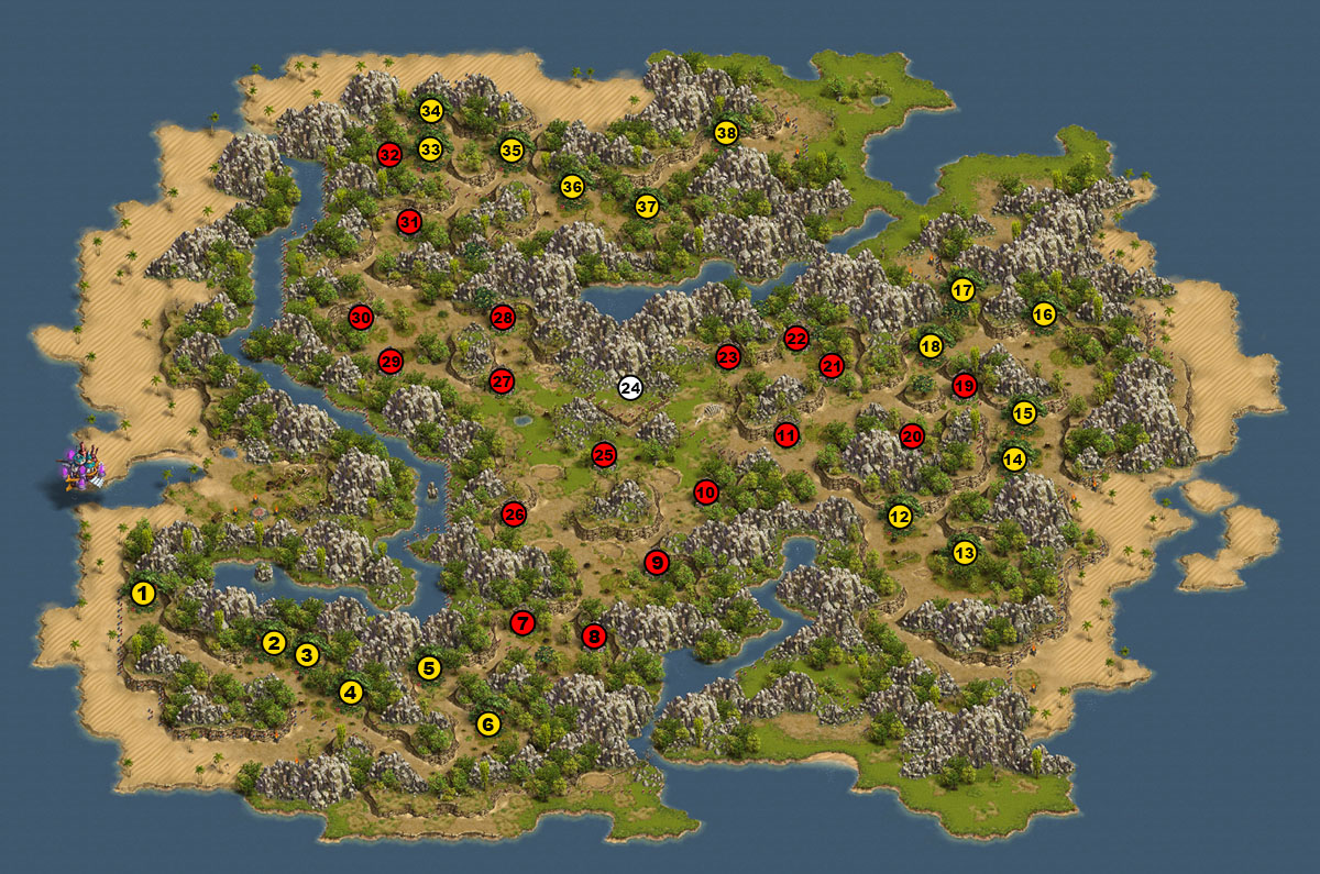 the settlers online adventure guide